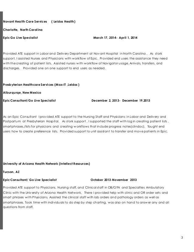 resume 4 update
