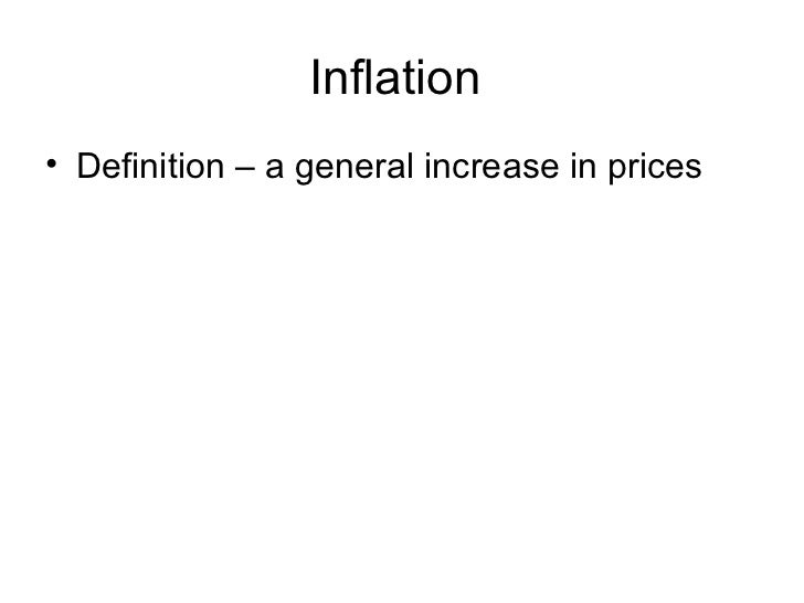 Image Result For Inflation Definitiona