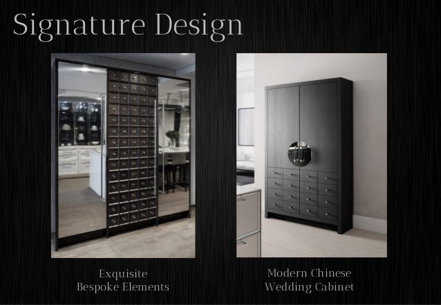 Social Culture; 13. Signature Design Exquisite Bespoke Elements Modern Chinese  Wedding Cabinet ...