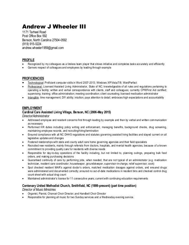 ajw business resume