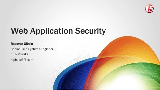 F5 Web Application Security