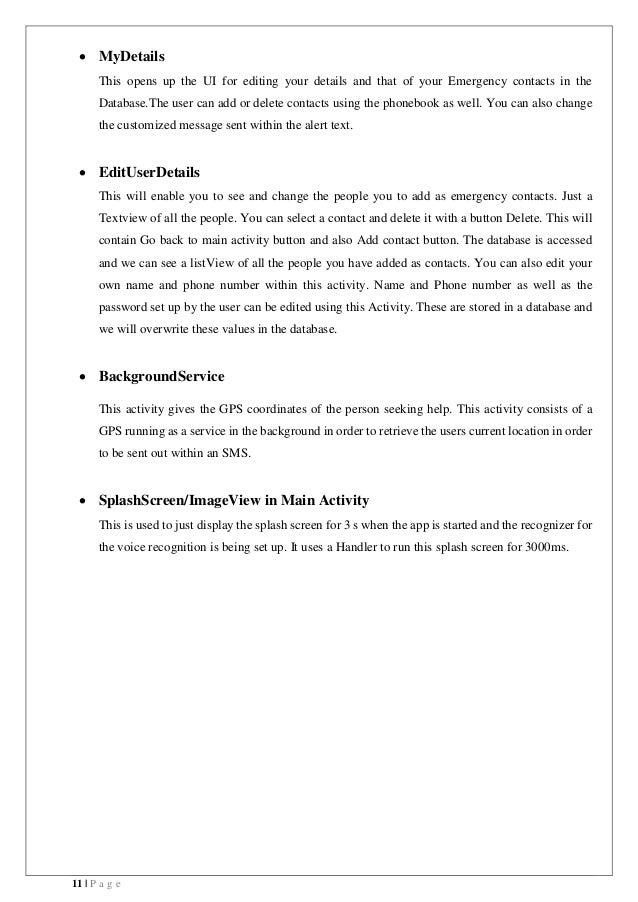 design document final for help application