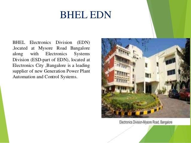bhel edn bangalore