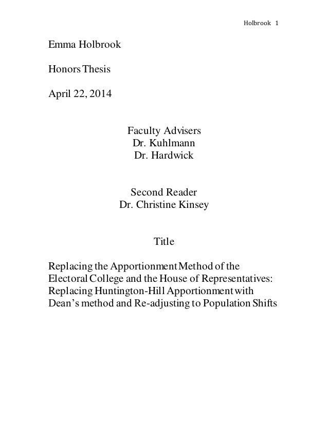 Second reader thesis it procurement resume