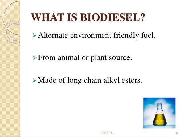 biodiesel project Discover the synergy potentials of your processes in biodiesel production – siemens offers a comprehensive portfolio for optimization of all processes along the value chain.