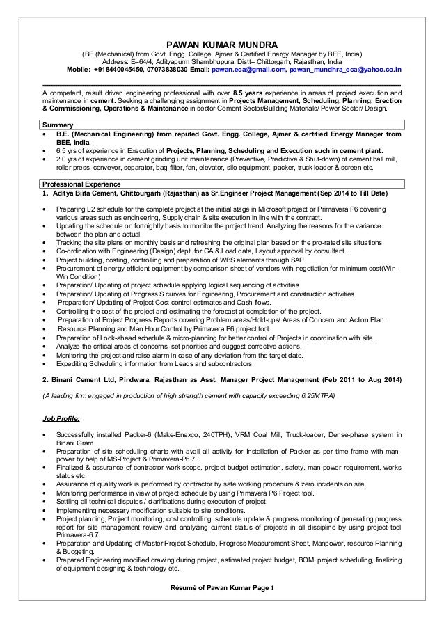 certified energy manager resume - Acur.lunamedia.co
