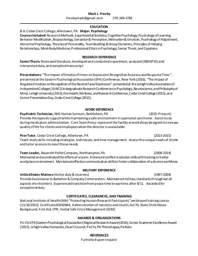Resume - Freeby 051016 education research heavy