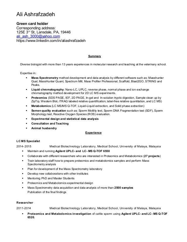 Resume-Cover letter-Ali Ashrafzadeh020416