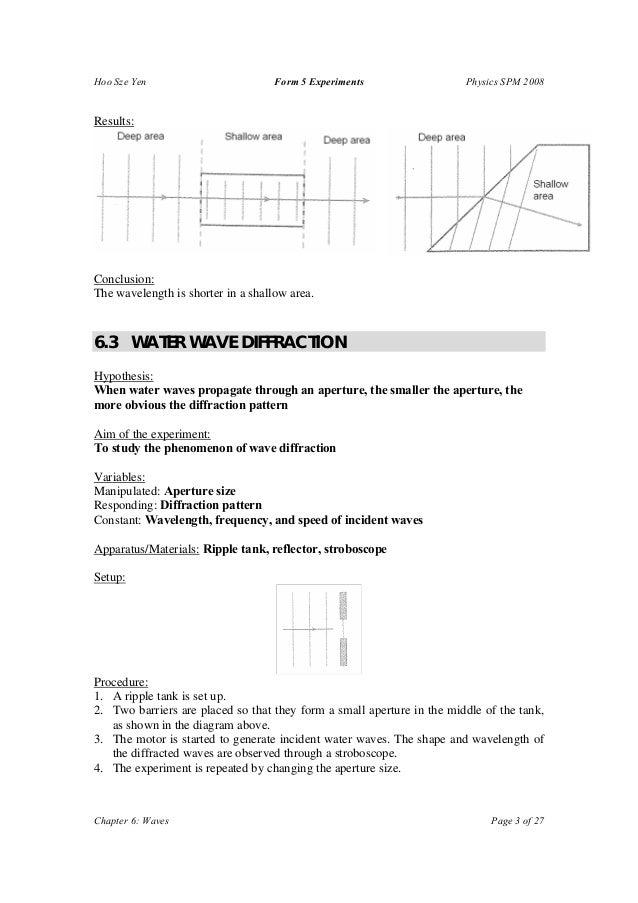 F5 Physics Experiment List  Slide 3