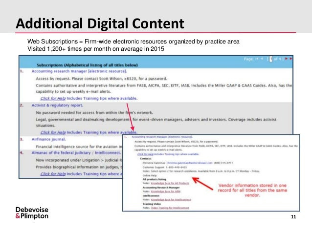 Strategic Integration Of EBooks And Digital Content In Law Libraries - Almanac of the federal judiciary