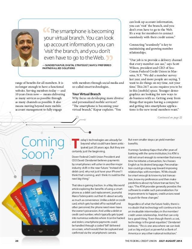NAFCU Magazine July 2014 Slide 2