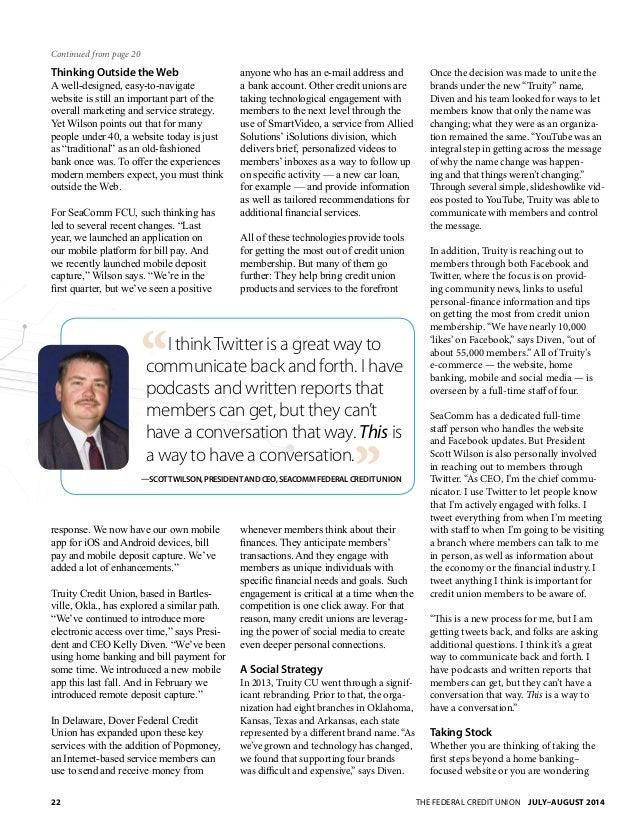 NAFCU Magazine July 2014 Slide 3