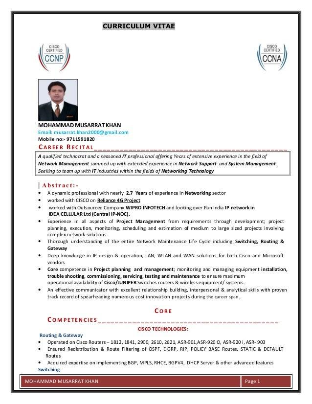 Musarrat Resume