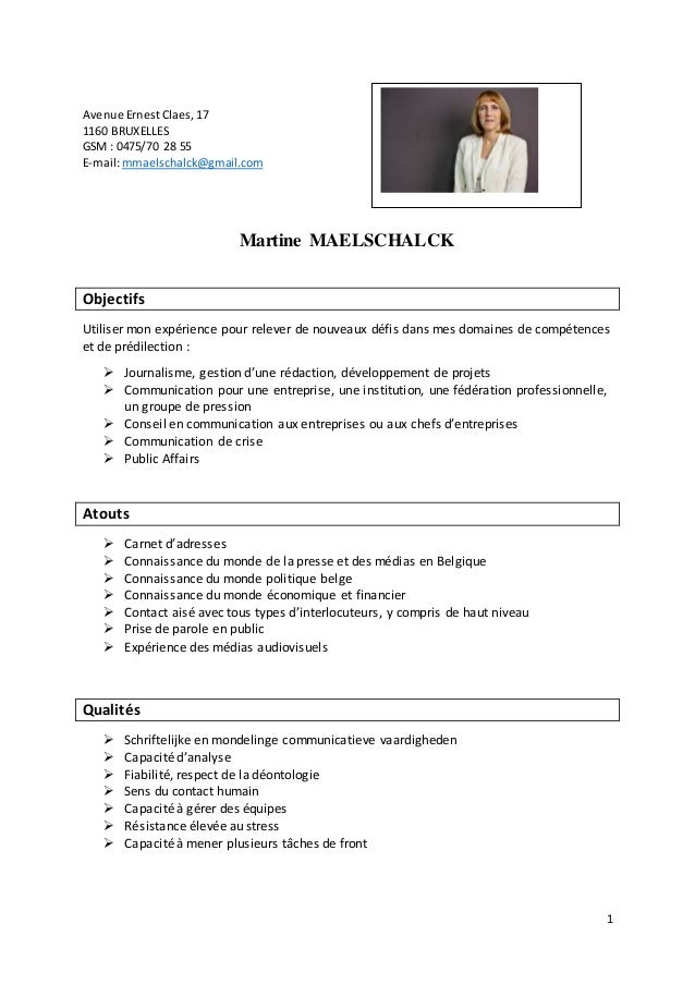1 Avenue ErnestClaes,17 1160 BRUXELLES GSM : 0475/70 28 55 E-mail:mmaelschalck@gmail.com Martine MAELSCHALCK Objectifs Uti...