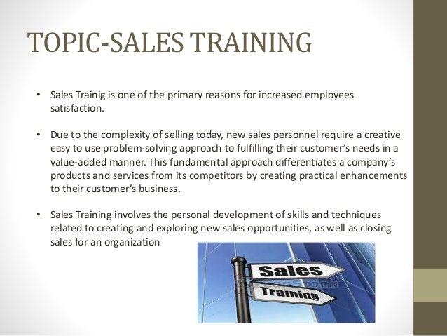 ppt sales training richa