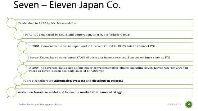 Seven eleven japan case study