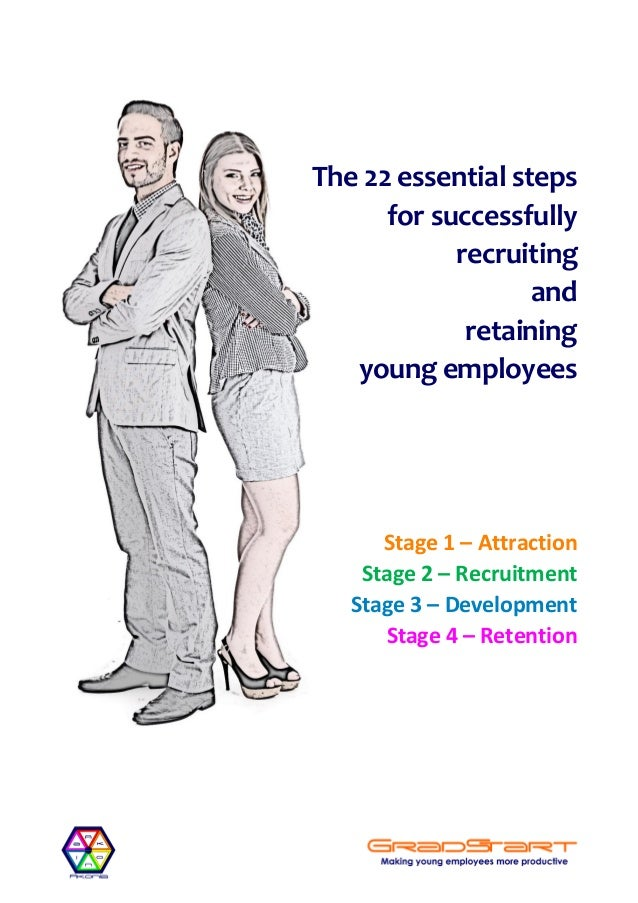 The 22 essential steps for successfully recruiting and retaining young employees Stage 1 – Attraction Stage 2 – Recruitmen...