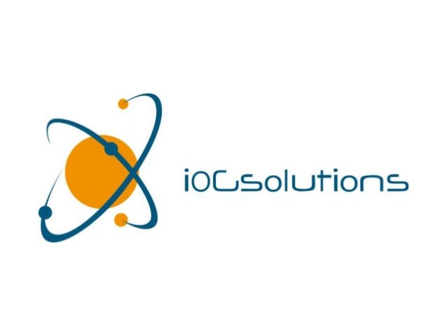 Confidential 2015 iOG 2 Agenda • Introduction • Solutions & Services • Past References • Contact Details