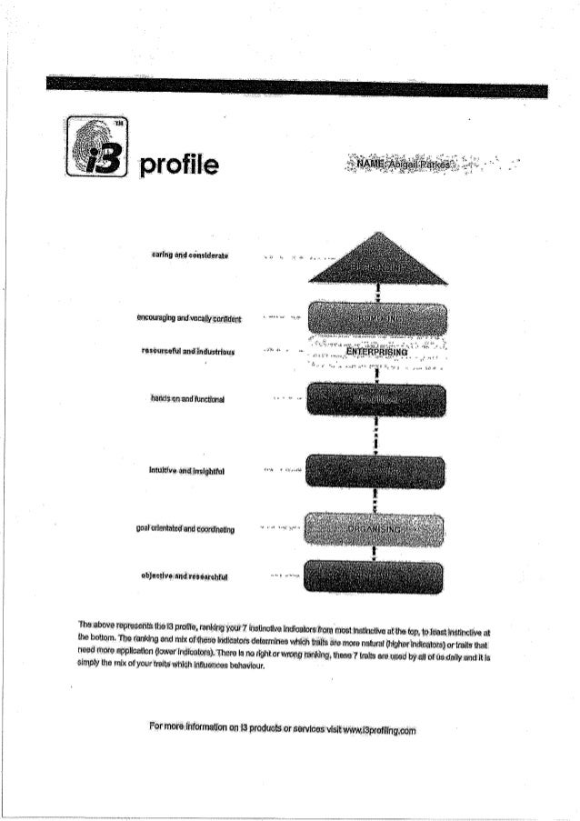 I 3 Profile