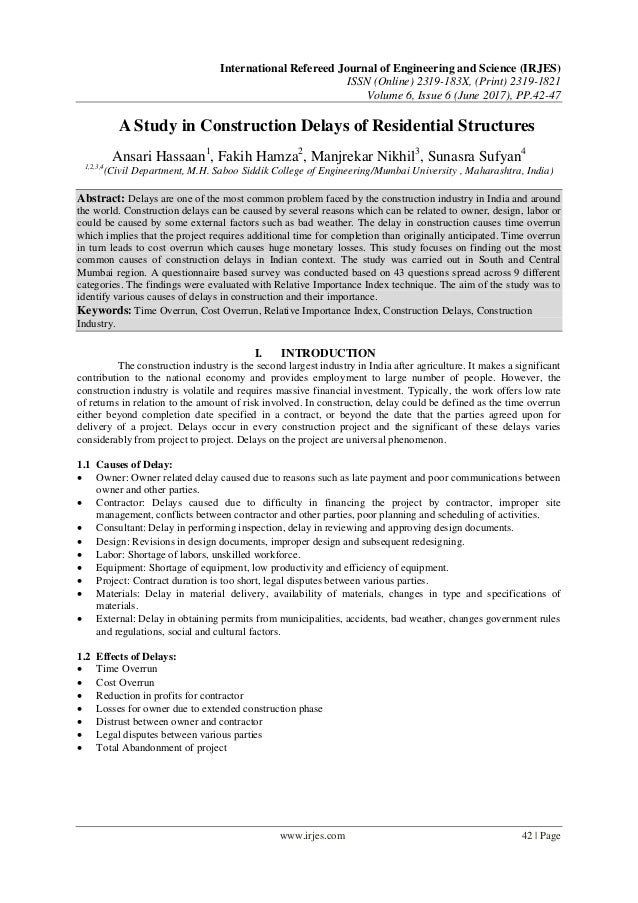 International Refereed Journal of Engineering and Science (IRJES) ISSN (Online) 2319-183X, (Print) 2319-1821 Volume 6, Iss...