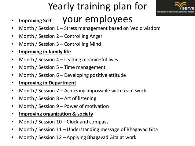 Corporate Trainings Offered By V Serve In Brief