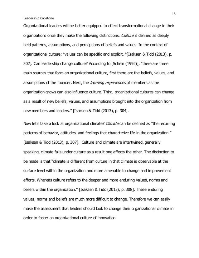 leadership essay examples
