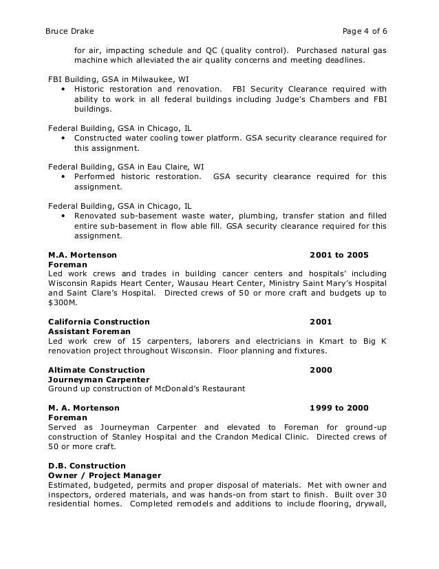 Free Federal Resume Builder. Resume Writing Format Resume Format