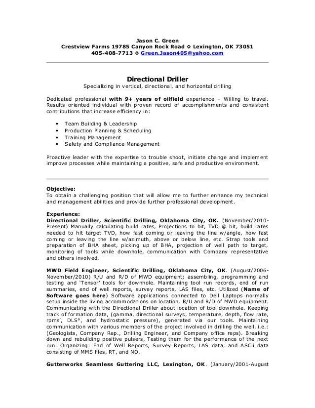 green jason c resume