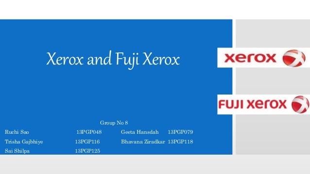 fuji xerox presentation Business manager at iona presentation college education case study iona  presentation college iona presentation college partners with fuji xerox  australia.