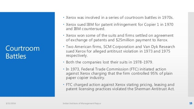 an analysis of xerox corporations marketing strategies in the 1970s and 1980s Xerox's failed in its marketing strategy of alto xerox alto and xerox star introduction xerox corporation is a in 1970, xerox decided to.