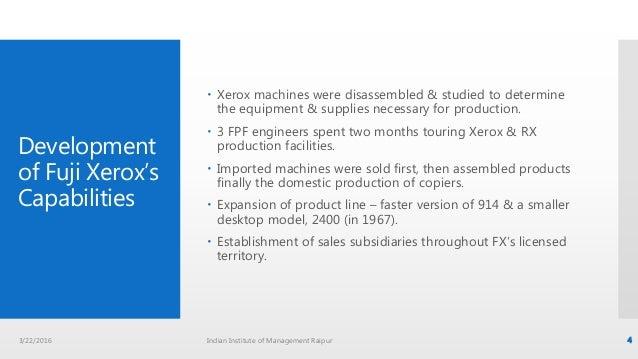 Xerox & Fuji Xerox