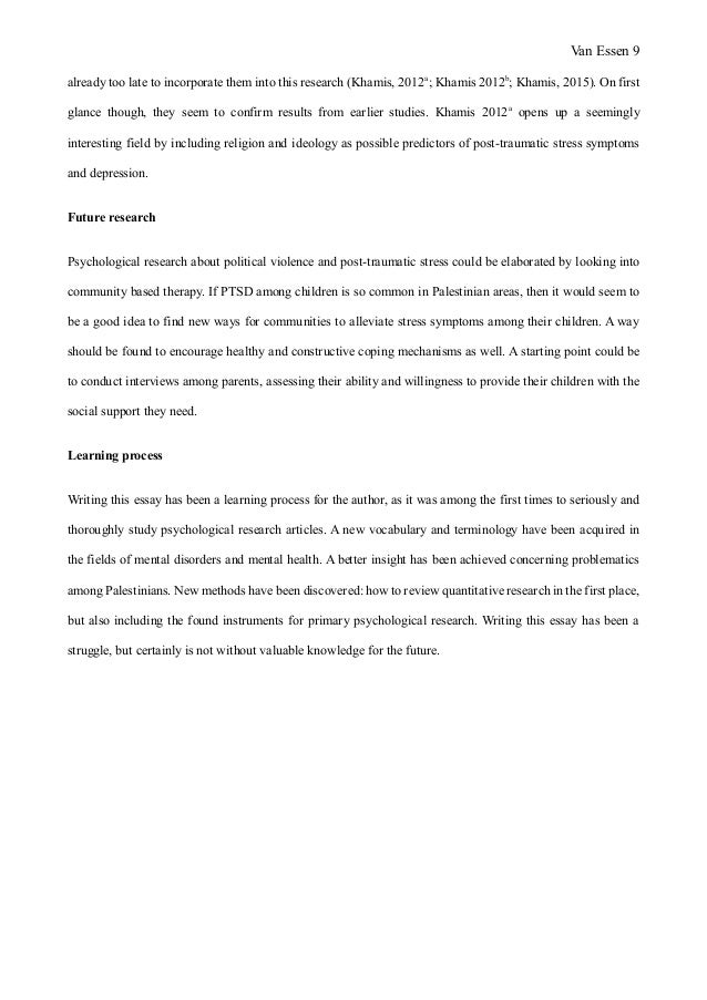 noha psychology essay matthijs van essen final version when it was 9