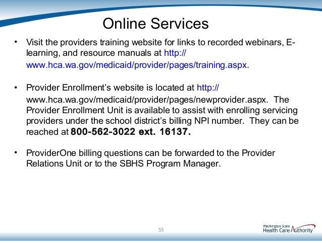 School Based Services Medicaid 101 Training - FINAL Presentation