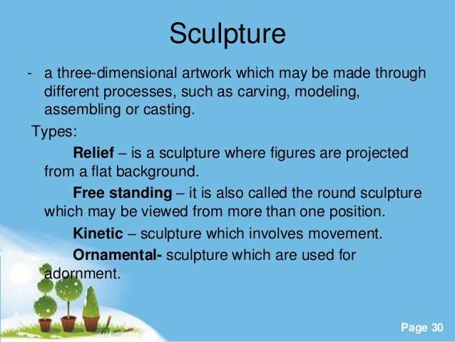 formal analysis of sculpture