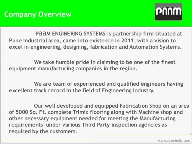 paam systems