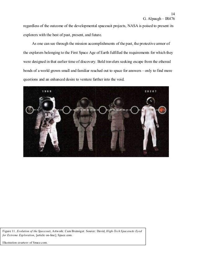 Space Suit Tech