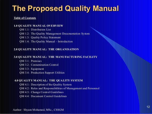 quality management proposal 3 arizona department of environmental quality quality management plan approval and concurrences (continued.