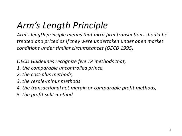 oecd transfer pricing guidelines 1995