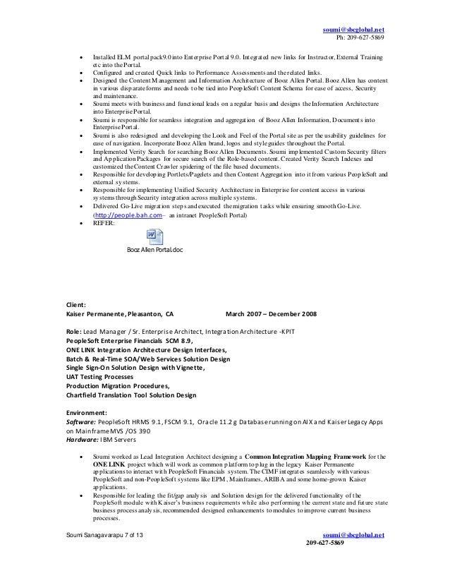 sap bi resume sample sap consultant resume samples business resume slideshare - People Soft Consultant Resume