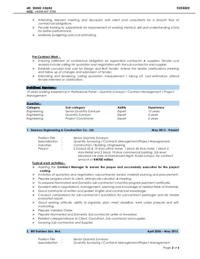 Sample Training Quotation  Resume Template Sample