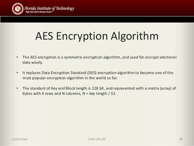 Advanced Encryption Standard  AES  Implementaion using Java TUprints   TU Darmstadt
