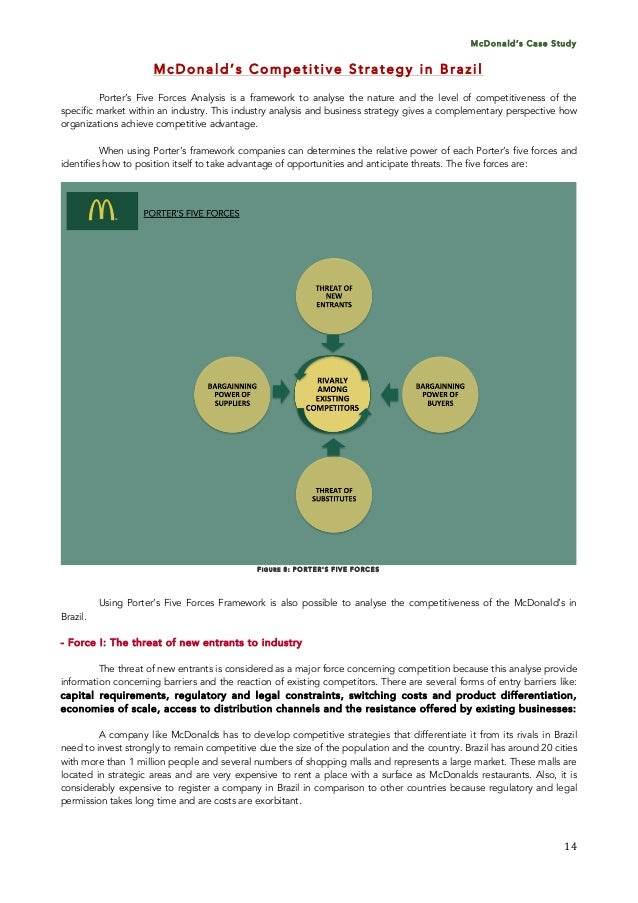 mcdonald case study Our case studies demonstrate how root cause analysis applies to a variety of scenarios this study investigates the infamous hot coffee lawsuit.