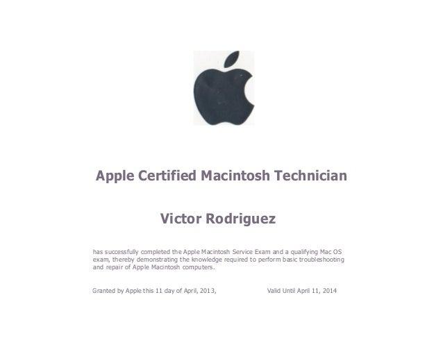 ACMT Certification
