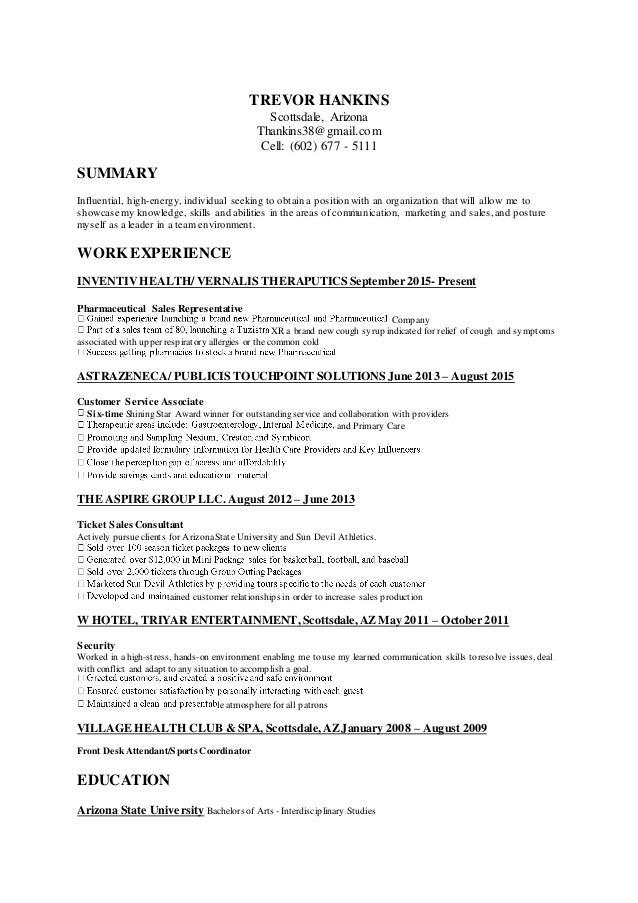 TREVOR HANKINS Resume 2-16-16