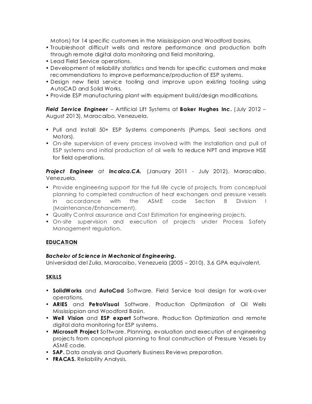 application engineer melissa watts résumé