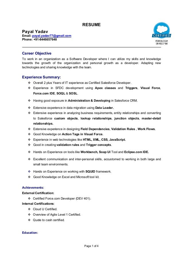 resume updated 1