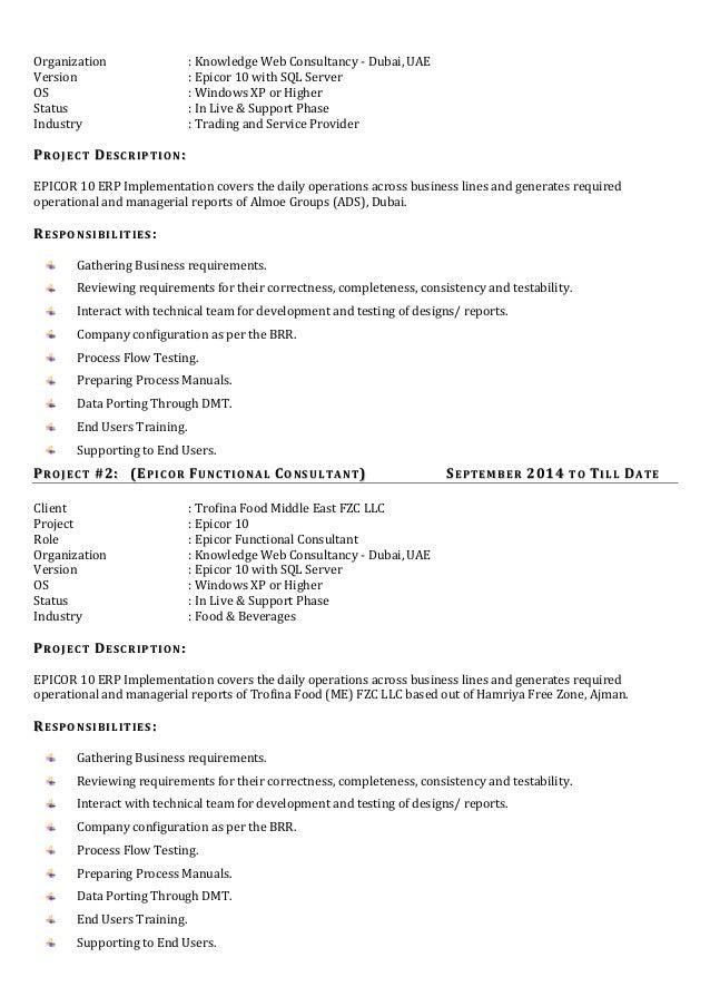 srinivas functional consultant cv