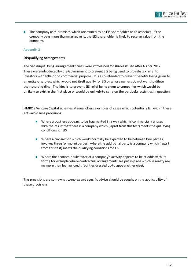venture capital schemes manual