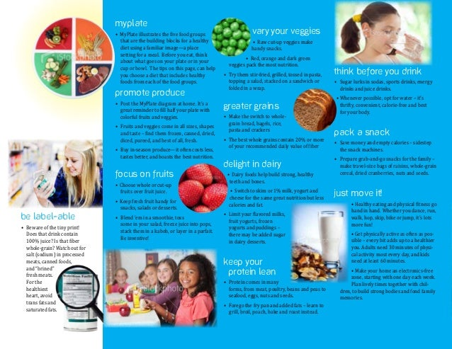 paf healthy lifestyle brochure r3