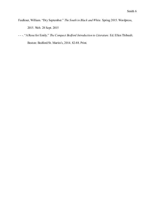 the compact bedford introduction to literature a rose for emily Southern_gothicppt southern gothic in american literature background  a rose for emily can be very difficult for students because we  introduction to .
